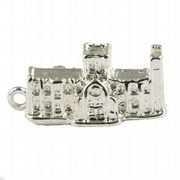 York Minster Cathedral 3D 925 Sterling Silver Charm